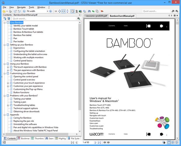 STDU Viewer screenshot (620 pix)