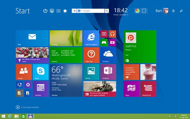 Start Screen Unlimited screenshot (620 pix)