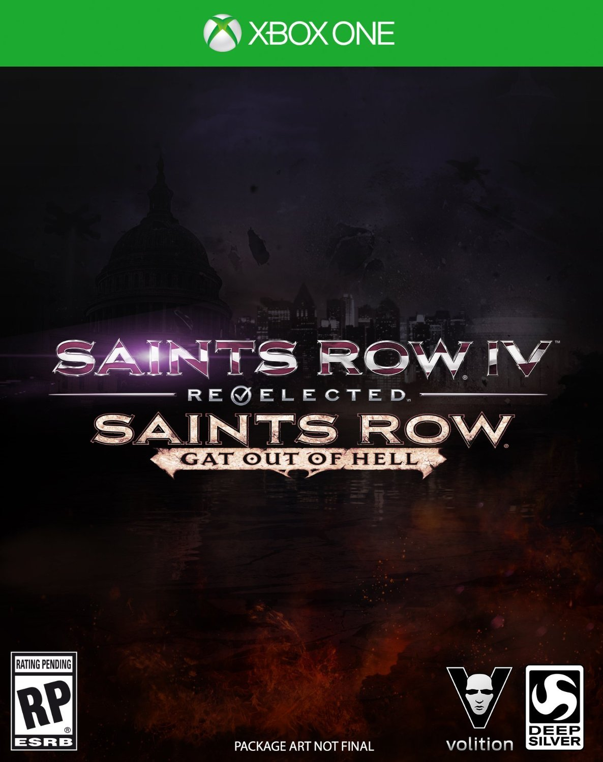Saints Row IV: Re-Elected + Gat Out Of Hell, Xbox One