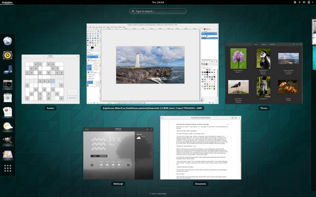 Gnome 3.14 screenshot
