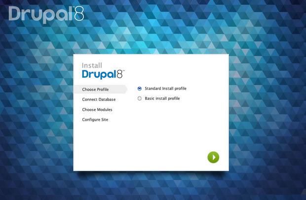 Drupal 8 install (620 pix)