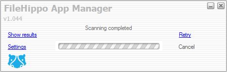 FileHippo Update Checker screenshot