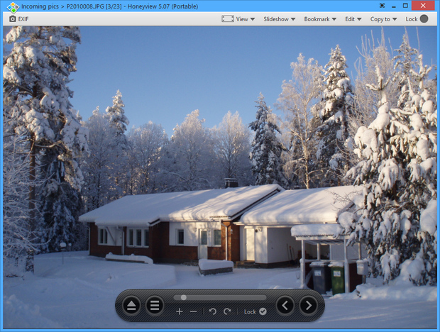 HoneyView screenshot (620 pix)