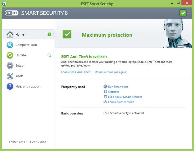 Smart Security 8.0 screenshot (620 pix)