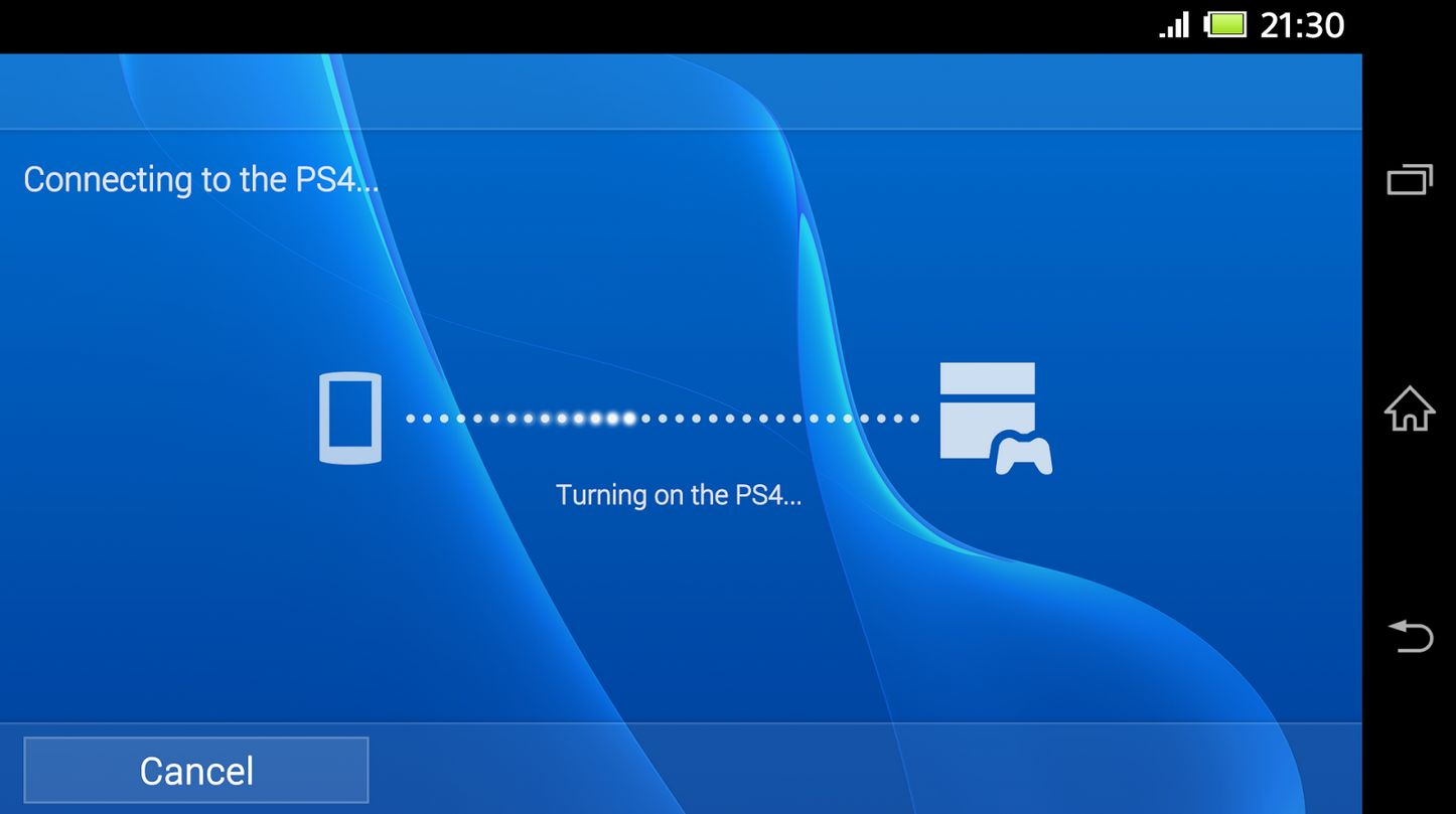 PS4 Remote Play op Xperia Z3