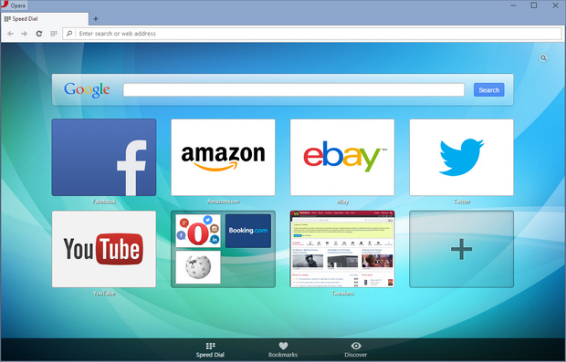 Opera 27 screenshot (620 pix)