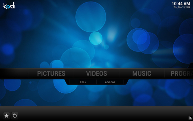 OpenELEC screenshot (620 pix)
