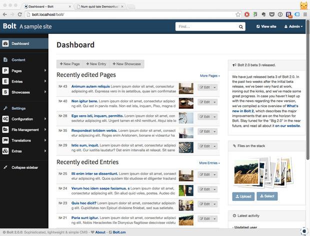 Bolt dashboard screenshot (620 pix)