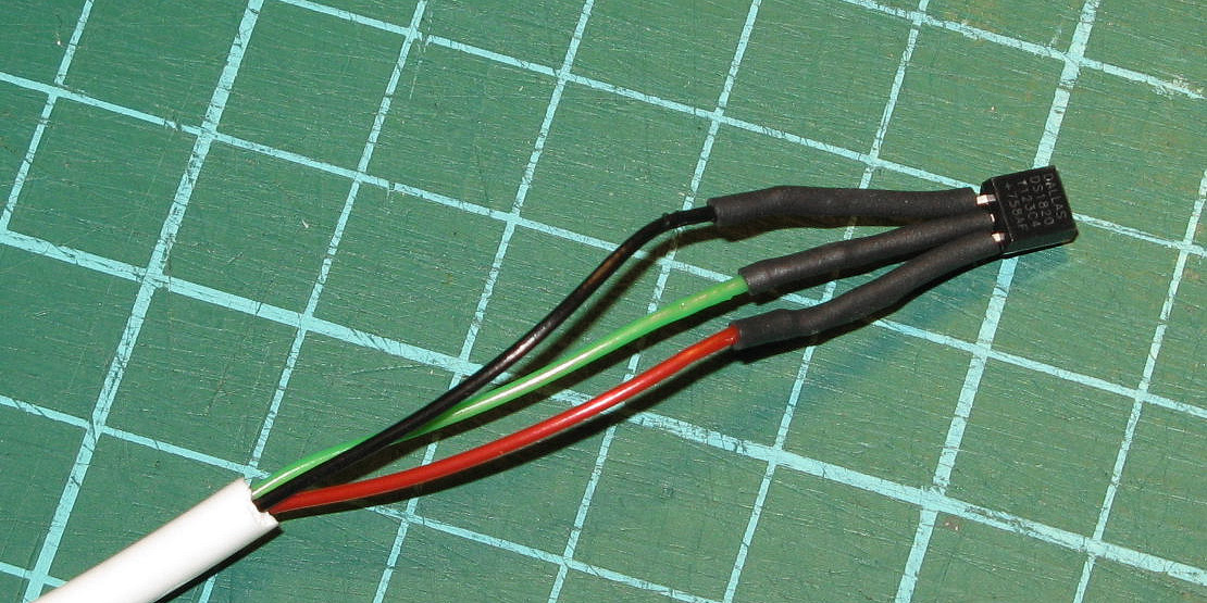DS18S20 1-wire temperatuursensor