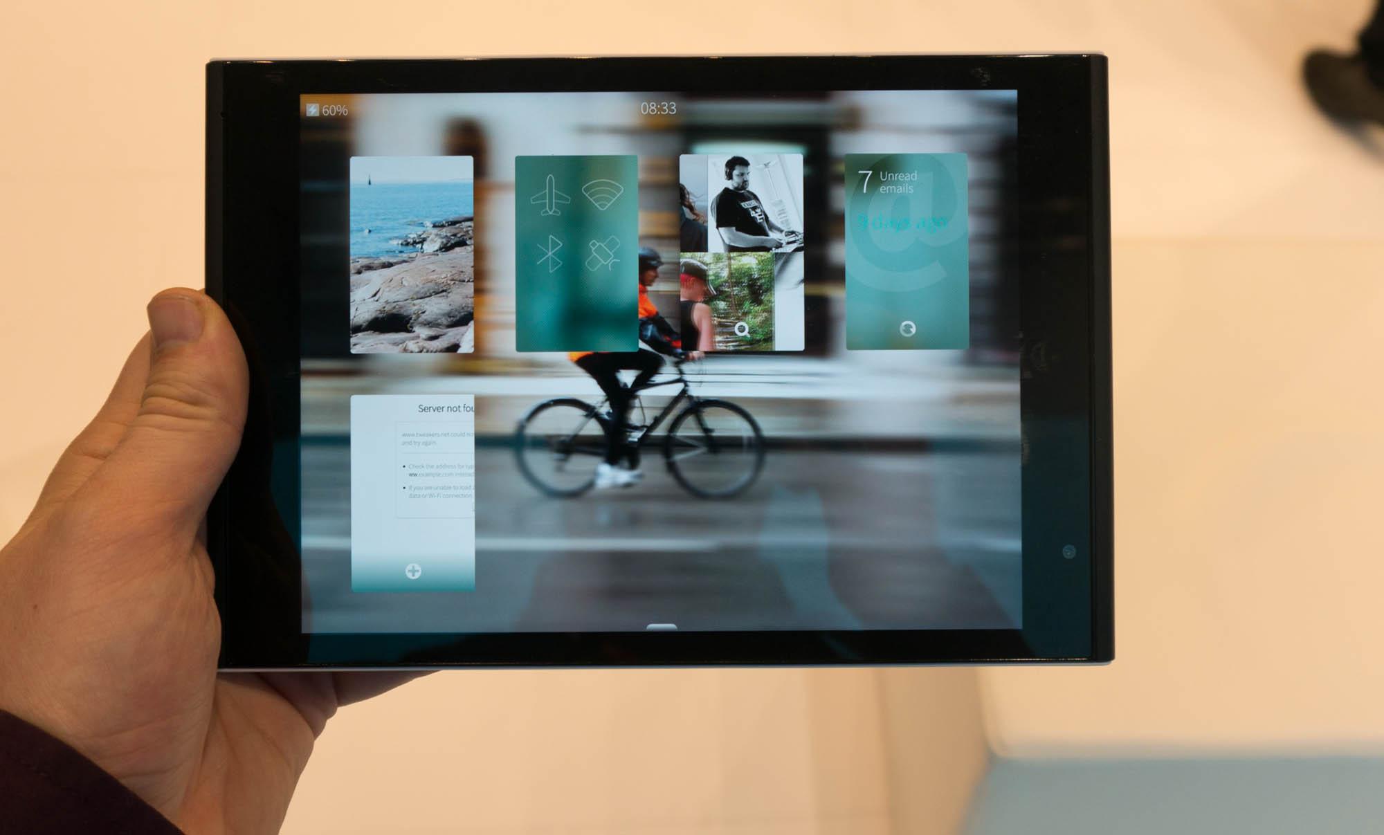 Jolla Tablet Preview - Sailfish OS op weg naar volwassenheid