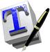 TeXworks logo (75 pix)