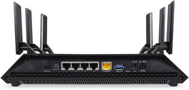 Netgear AC3200 Nighthawk X6 Tri-Band WiFi Router (R8000)