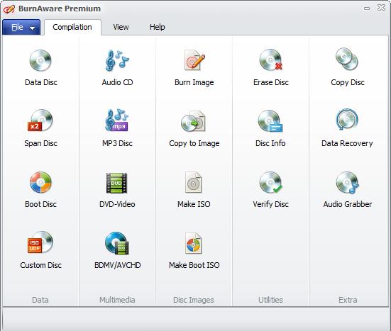BurnAware Premium 8.0 screenshot