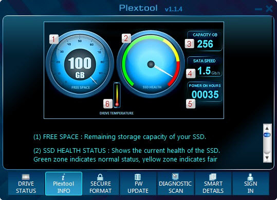 Plextool screenshot