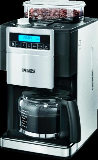 Princess 249402 Coffee Maker and Grinder DeLuxe - Prijzen - Tweakers