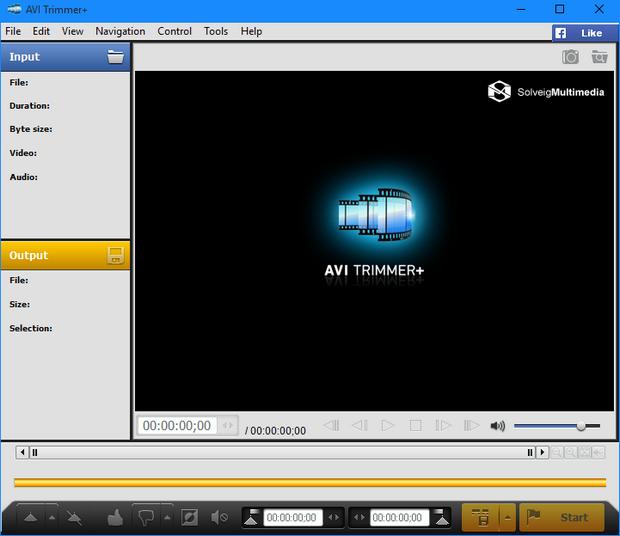 SolveigMM AVI Trimmer 5.0 screenshot (620 pix)
