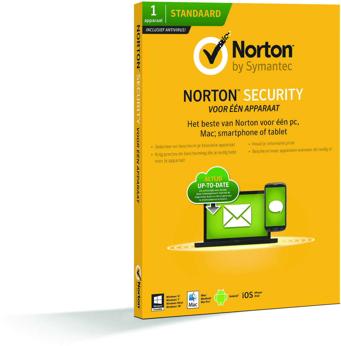 Symantec Norton NL SECURITY 2.0 1U 1DVC 2015 - Prijzen - Tweakers