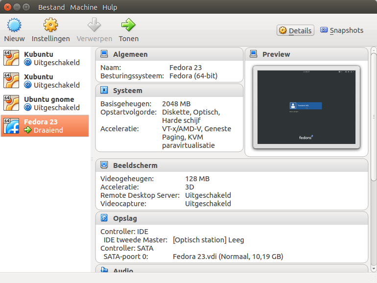 virtualbox 5.0.12