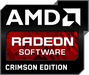 AMD Radeon Software Crimson Edition logo (75 pix)