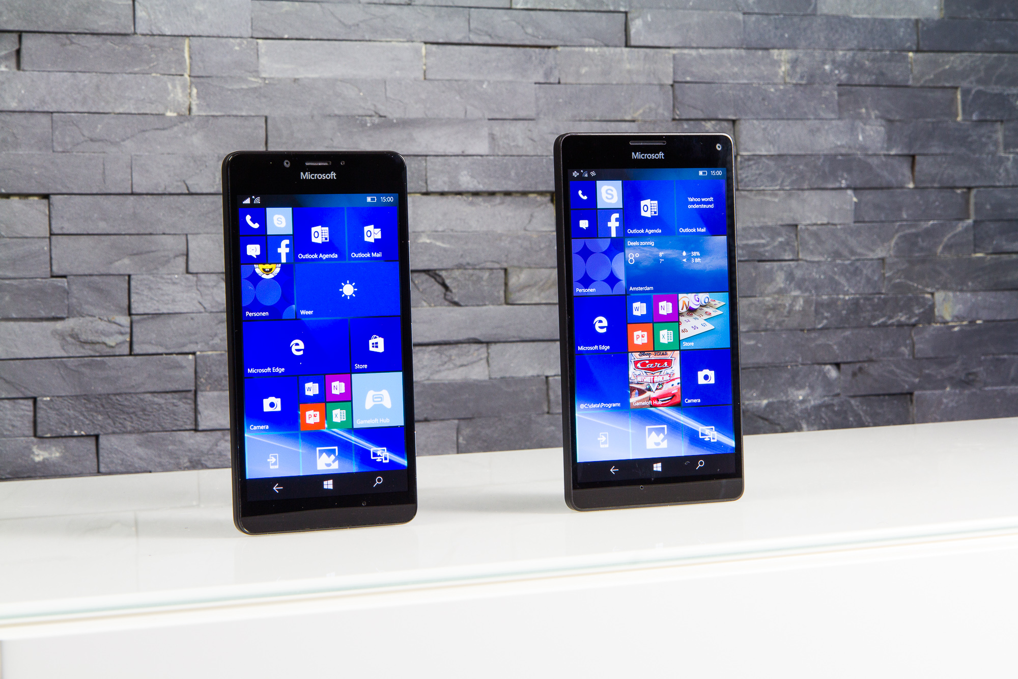 Windows 10 Mobile op de Lumia 950 en 950 XL