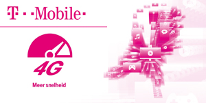 T-Mobile: ��n mobiel netwerk voor 4G