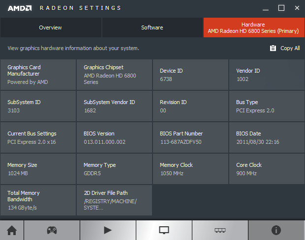 AMD Radeon Software Crimson Edition 16.1.1