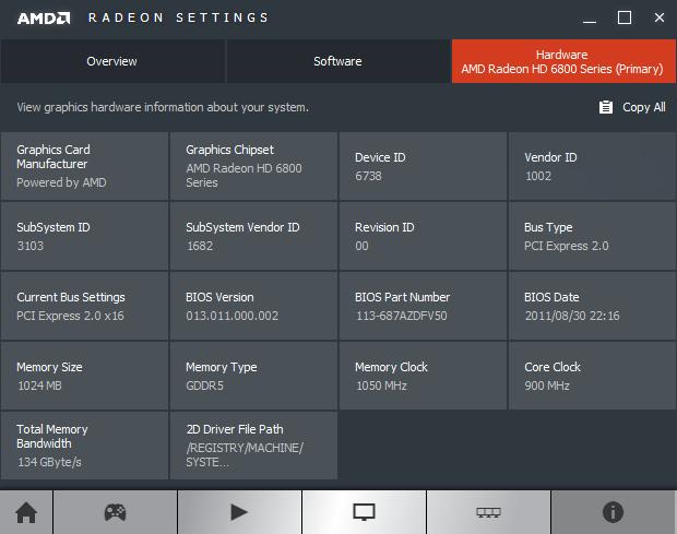 AMD Radeon Software Crimson Edition 16.1.1