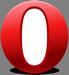 Oude Opera 12.x browser logo (75 pix)