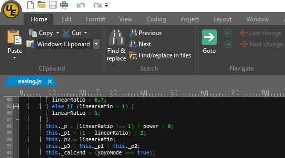 UltraEdit 23.0 screenshot