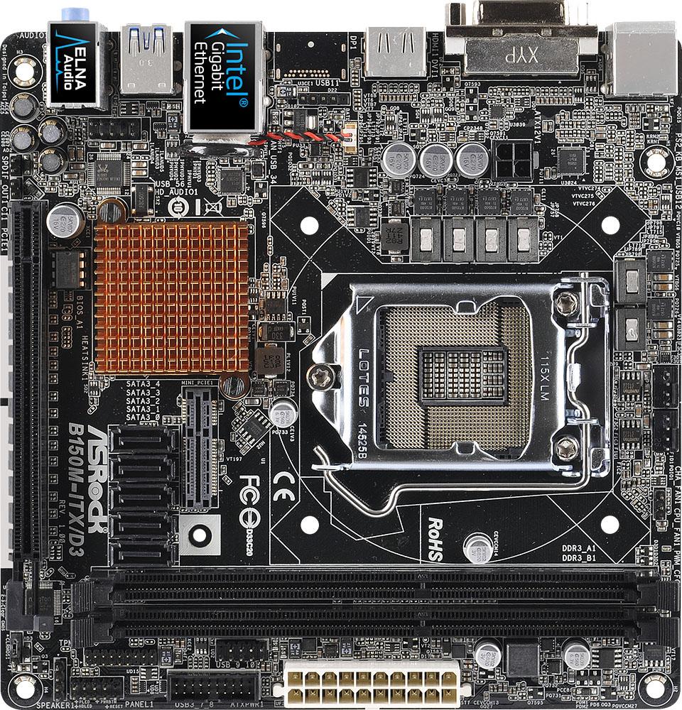 ASRock B150M-ITX/D3 Intel SATA Treiber Windows 10