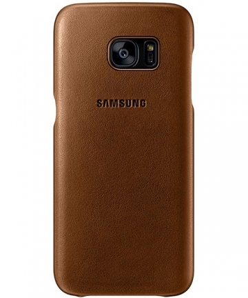 timeless design ead26 40fb8 Samsung Galaxy S7 edge Leather Cover (Galaxy S7 Edge) Bruin