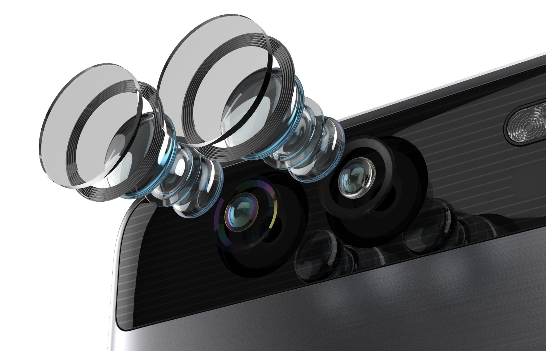 Huawei introduceert P9-smartphones met zwart-wit- en kleurencamera ...