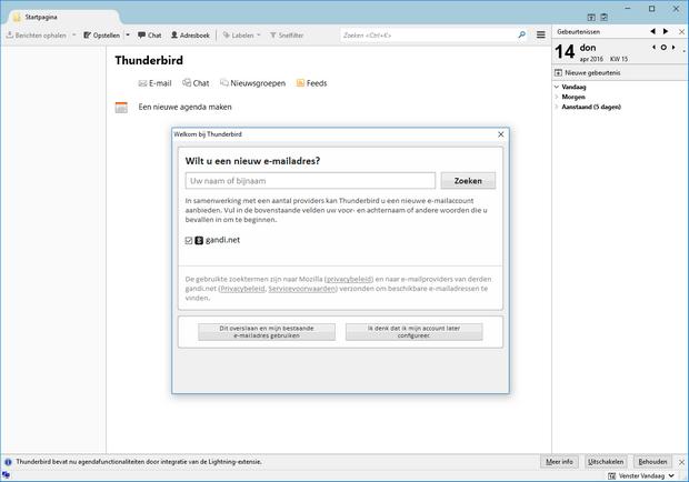 Mozilla Thunderbird screenshot (620 pix)
