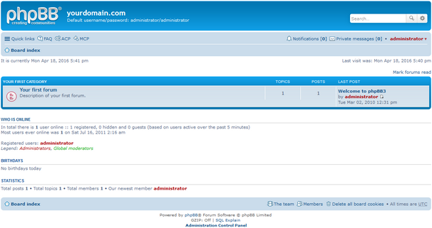 phpBB 3.1 screenshot (620 pix)