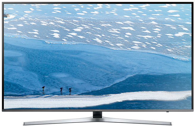 "Samsung UE55KU6450S 55"" 4K Ultra HD Smart TV Wi-Fi Zilver"
