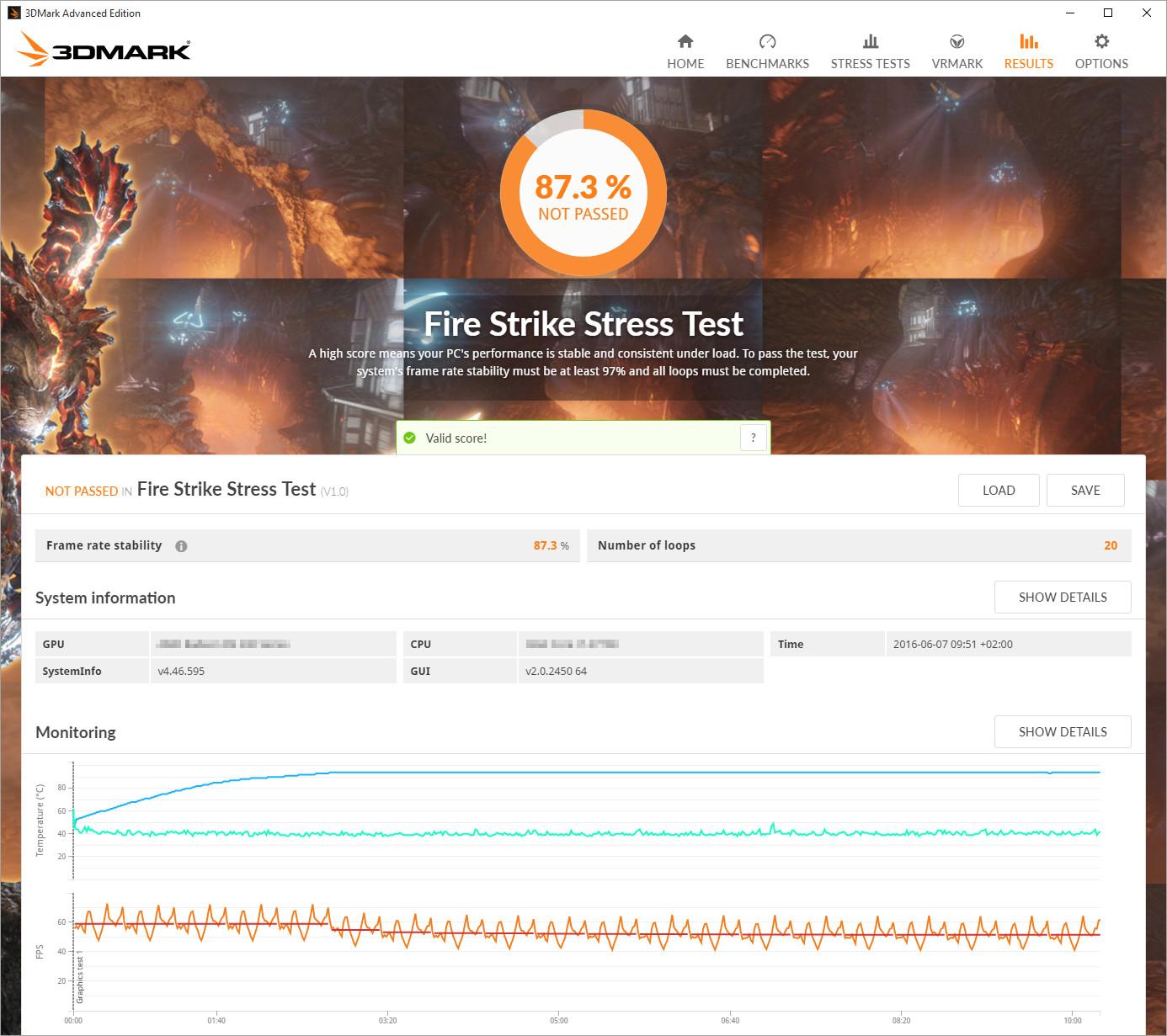 Stress Test Ziekenhuis: Futuremark Voegt Stresstest Toe Aan 3DMark