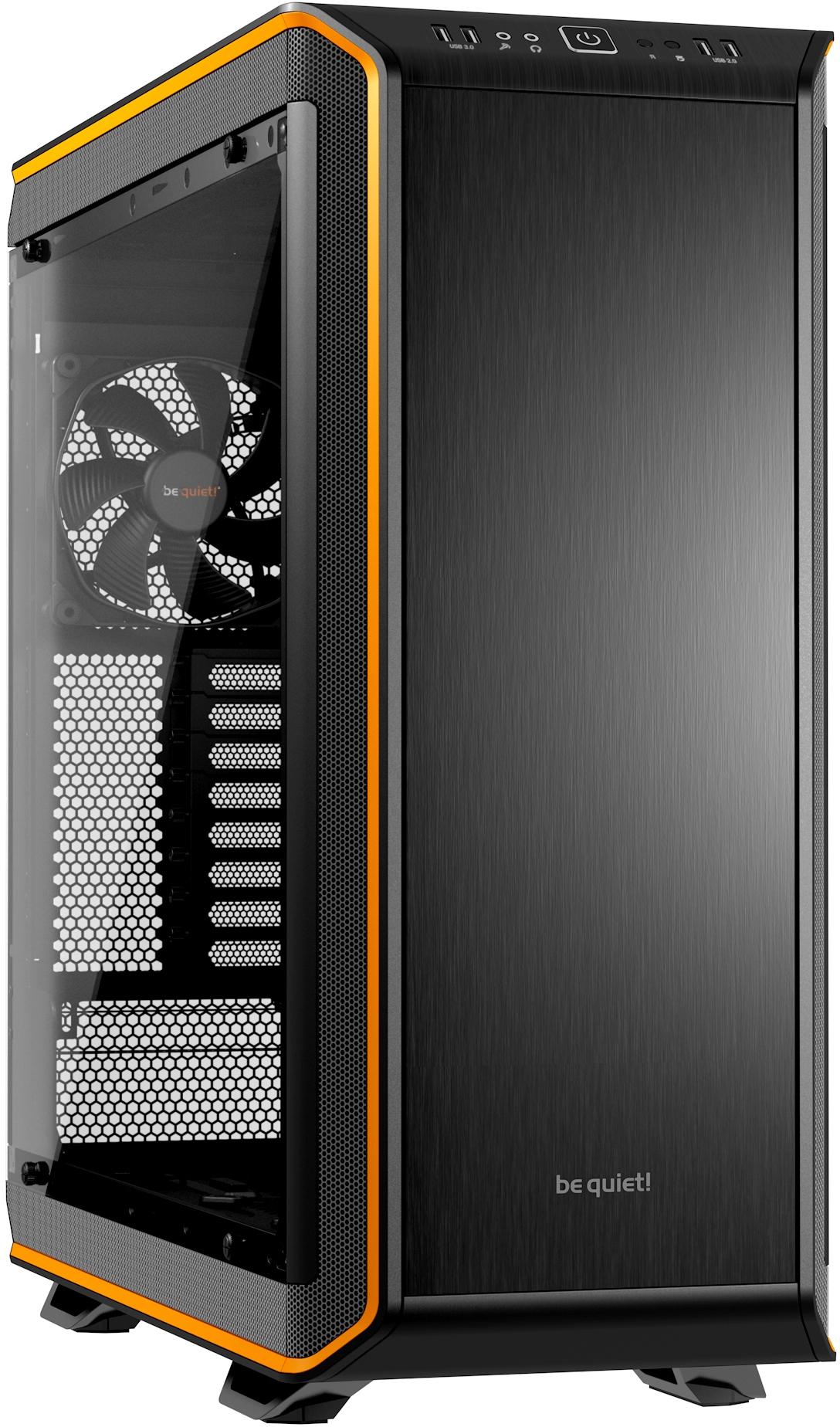Be quiet! dark base pro 900 (zwart/oranje)   specificaties   tweakers
