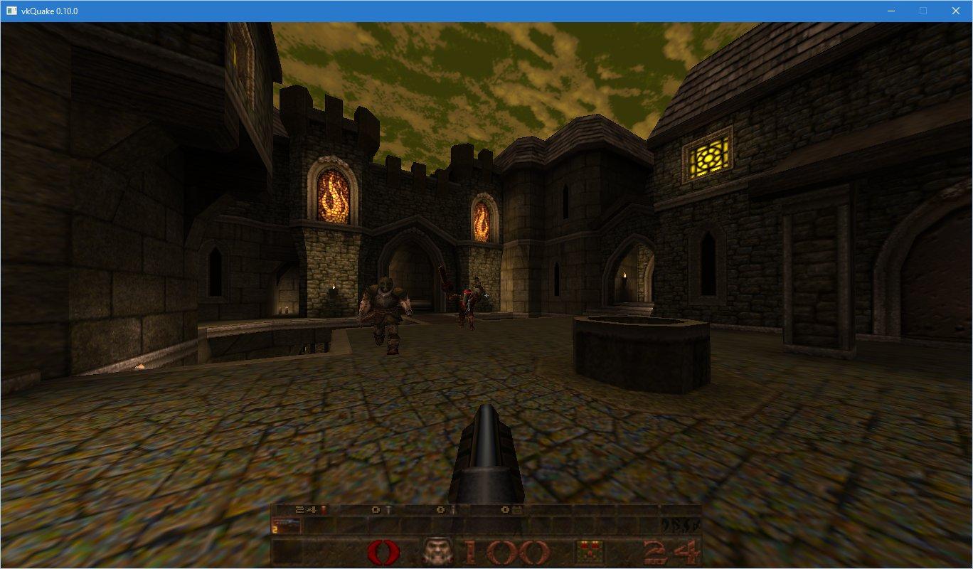Quake 1 is geport naar Vulkan - Gaming -  Geeks - Tweakers