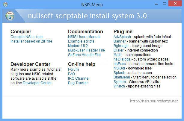 Nullsoft Scriptable Install System 3.0 screenshot