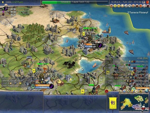 Civilization IV d.m.v. Wine