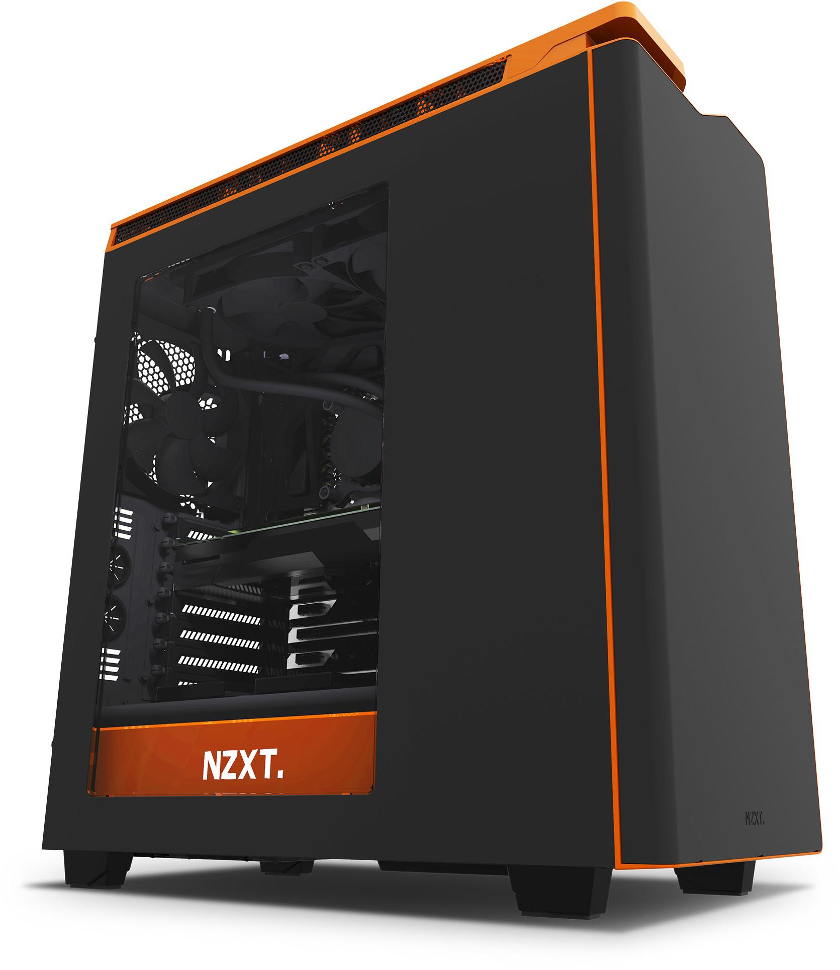 Nzxt h440 new edition zwart/oranje   specificaties   tweakers