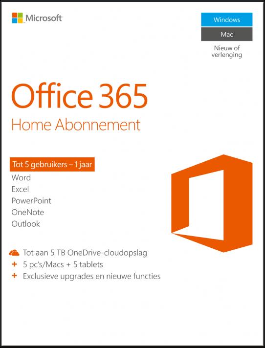 office 365 home kopen