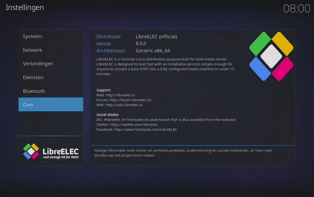 LibreELEC screenshot (620 pix)