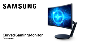Curved Gaming Monitor: 4,5 sterren
