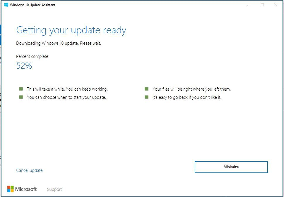 Update Windows 10 Creators Update
