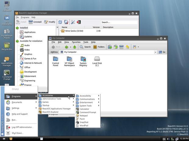 ReactOS screenshot (620 pix)