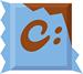 Chocolatey logo (75 pix)