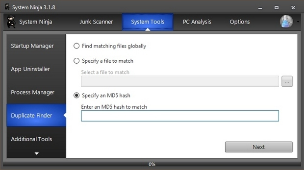 System Ninja screenshot