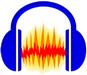 Audacity logo (75 pix)