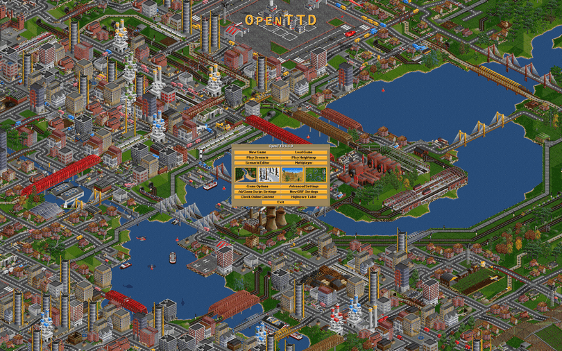 OpenTTD screenshot (810 pix)